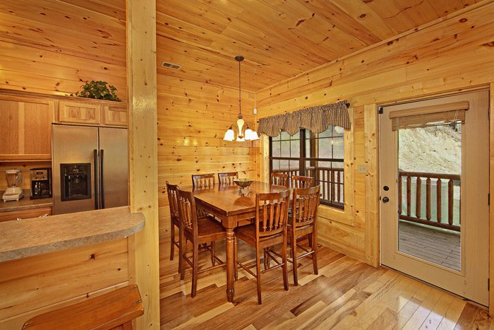 Cabin with Dining Area - 2 Good to be True