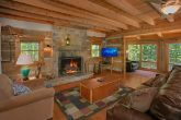 Gatlinburg Cabin with Living Room and Fireplace