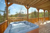 Hot Tub with views of the Great Smoky Mountians