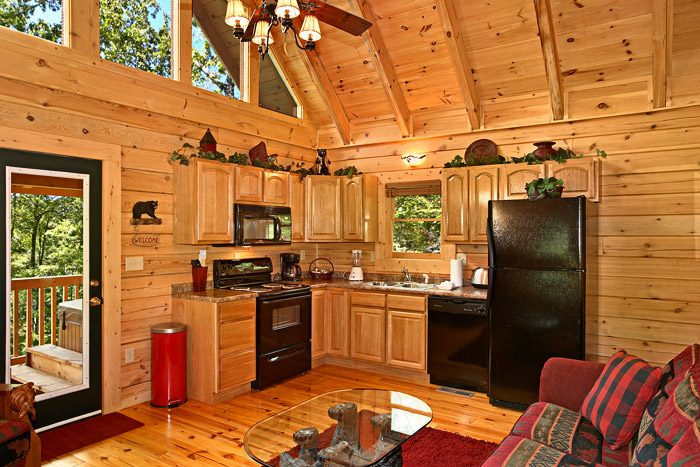 Cabin with Fully Furnished Kitchen in Gatlinburg - A Bear Abode