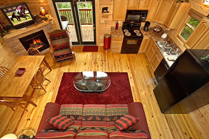Gatlinburg Cabin with Open Floor Plan - A Bear Abode