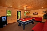 Gatlinburg Cabin with Downstairs Billiard Room