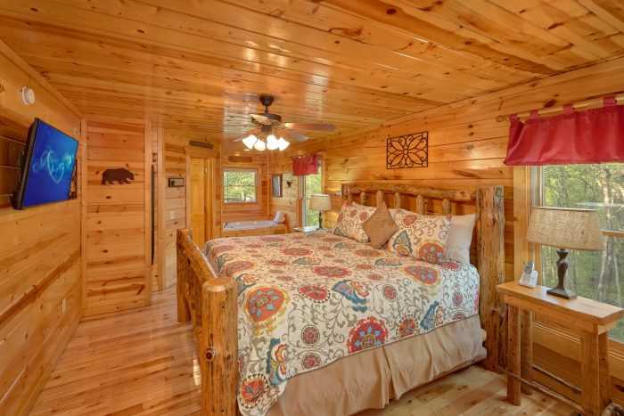 Cabin with Master Suite - A Bear Endeavor