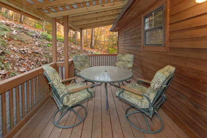 2 Bedroom Cabin withLots of Deck Space - A Bear Trax