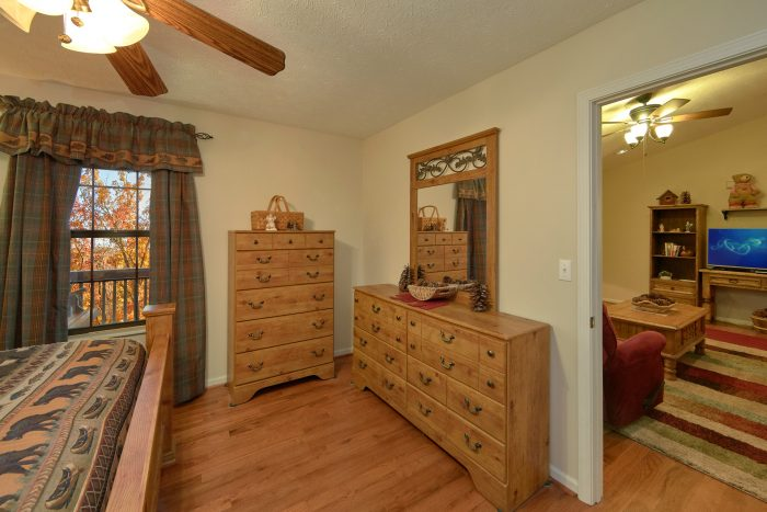 Large Bedrooms with Full Bath Room - A Bear Trax