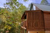 Honeymoon Cabin with Wooded Views and Hot Tub