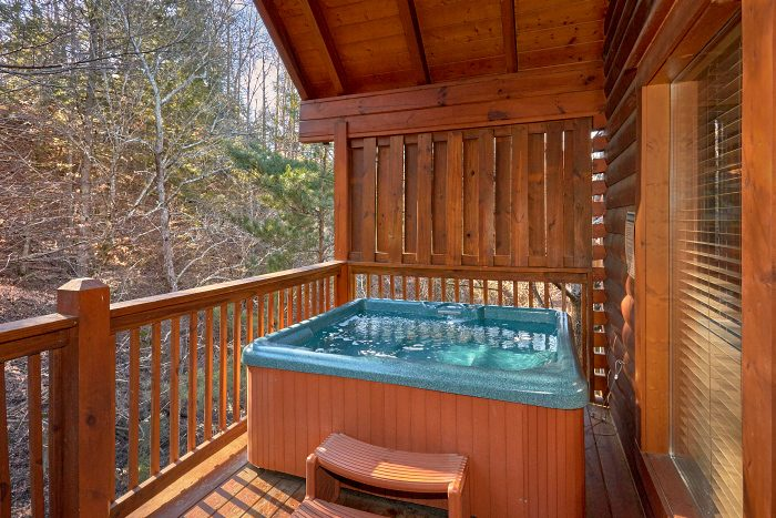 Resort Cabin with 4 Bedrooms and Hot Tub - A Bears Lair