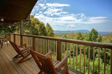 Bird's Eye View: 3 Bedroom Sevierville Chalet Rental