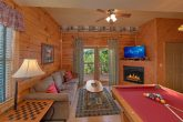 Cabin with Game Room, Sleeper Sofa, & Pool Table