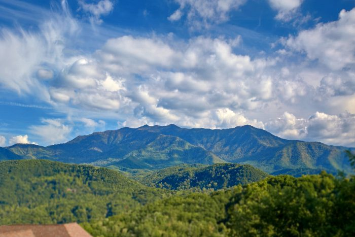 Cabin with Views of Mt. Leconte - A Castle in the Clouds