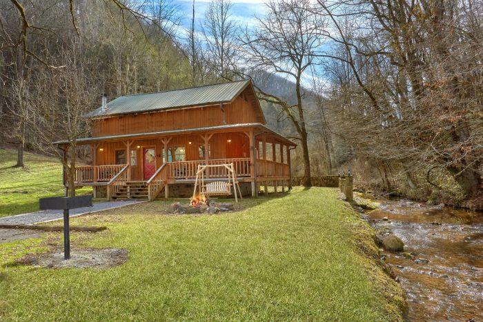 A Creekside Retreat Cabin Rental Photo