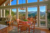 Spacious Dining Area with Views of the Mountains