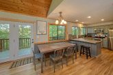 4 bedroom cabin with spacious dining room