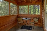Screened Porch with Hot Tub in 1 Bedroom Cabin
