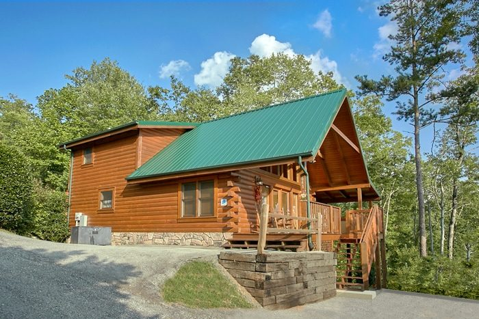 ... Luxury Cabin In Gatlinburg With Mountain Views   A Grand Getaway ...