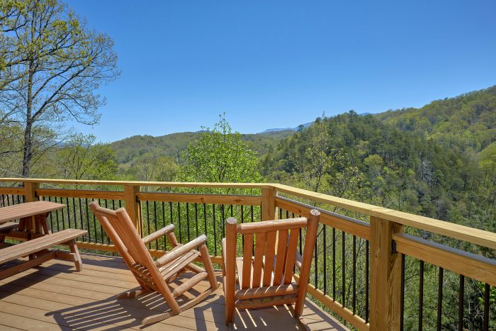 Rocking Chairs and Picnic Table - A Mountain Haven
