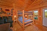 Cabin with Queen Bunk Beds