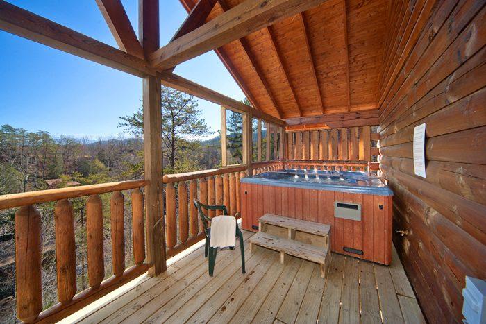 Smoky Mountain Cabin with Hot Tub - A Mountain Paradise
