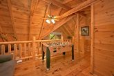 2 bedroom cabin with loft and fooseball game
