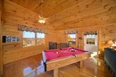 1 Bedroom Honey Moon Cabin with Pool Table