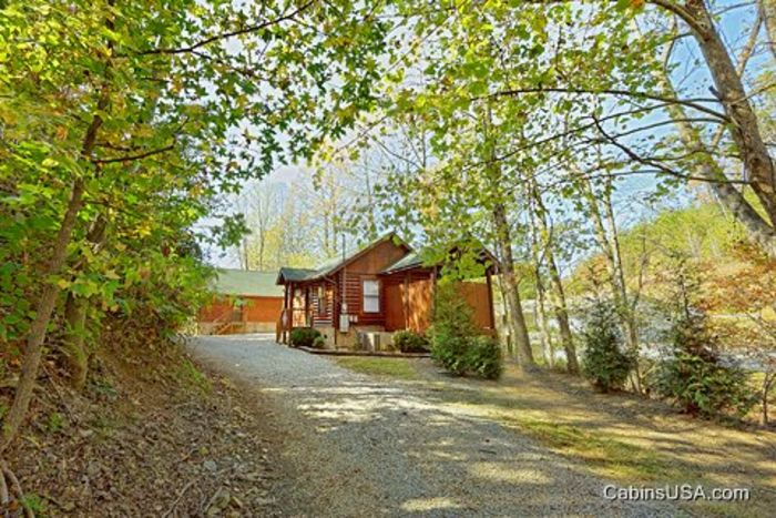 Smoky mountains cabins for rent 1 bedroom for Cabin rentals near smoky mountains