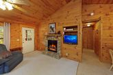 Pigeon Forge Cabin with Cozy Fireplace