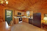 One Bedroom Cabin with 1 Level Open Floor Plan