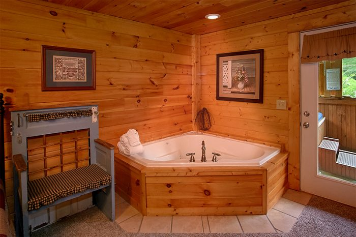 Pigeon Forge Cabin with 2 Indoor Jacuzzi Tubs - A Smoky Mountain Jewel