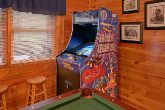 Pigeon Forge Cabin with Luxurious Gameroom