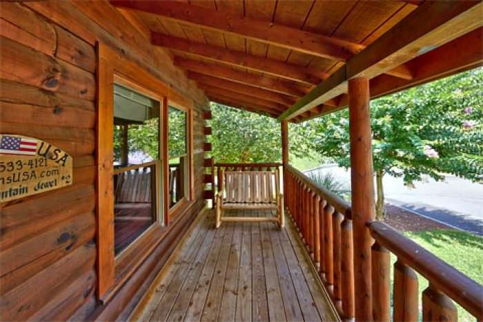 Cabins at the Crossing 2 Bedroom Premium Cabin - A Smoky Mountain Jewel