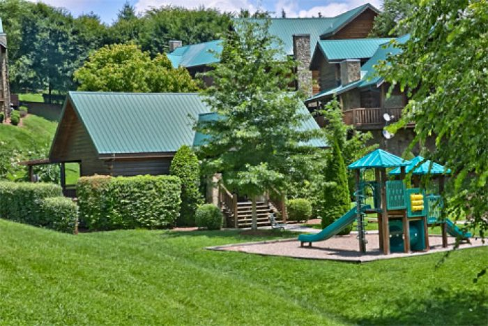 Cabins at the Crossing 2 Bedroom with Playground - A Smoky Mountain Jewel