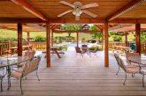 Premium Cabin in Resort with Patio Access
