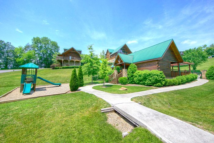 Cabins at the Crossing Cabin with Playground - A Smoky Mountain Jewel