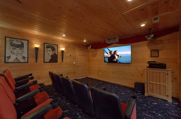 Theater Room with Spacious Seating - A Spectacular View to Remember