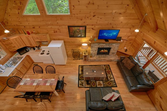 Cabin with Open Floor Plan - A Stones Throw