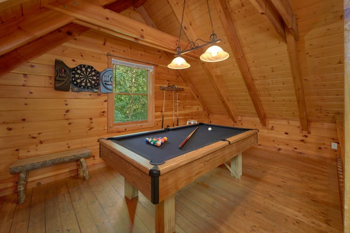 Cabin with Billiard Room - A Stones Throw