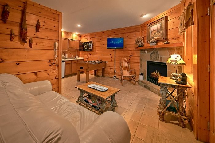 2 Bedroom Cabin with 2 Fireplaces and Game Room - A Tennessee Twilight