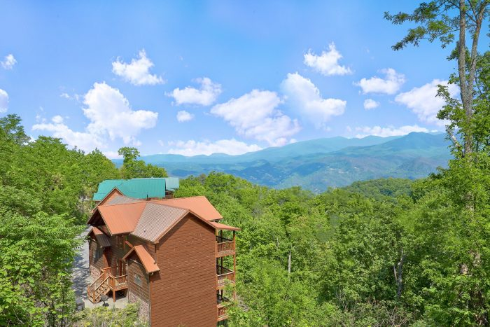 5 Bedroom Cabin in Gatlinburg - A View From Above