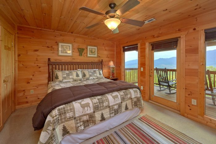 5 Bedroom Cabin with 5 Master Suites - A View From Above