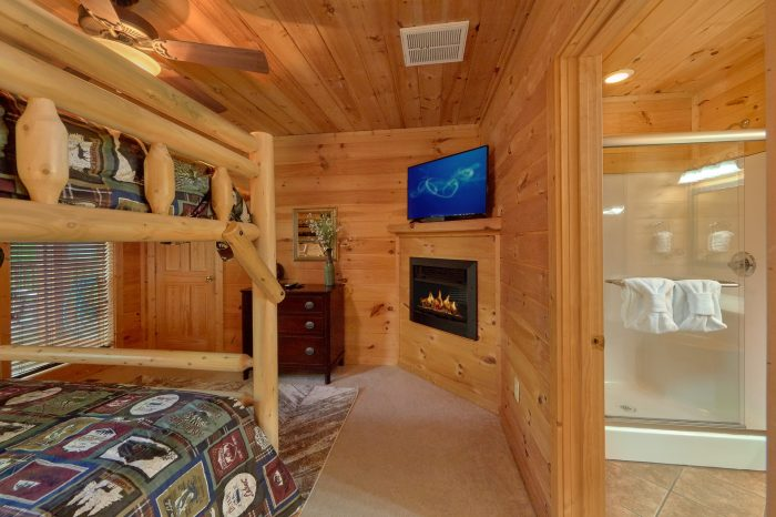 5 Bedroom Cabin with an Arcade Game - A View From Above
