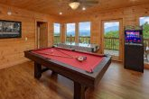 Gatlinburg 5 Bedroom Cabin with a Pool Table