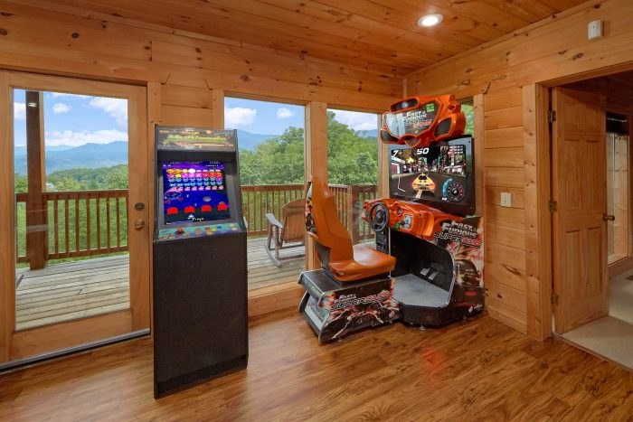 Gatlinburg Cabin with a Game Room - A View From Above