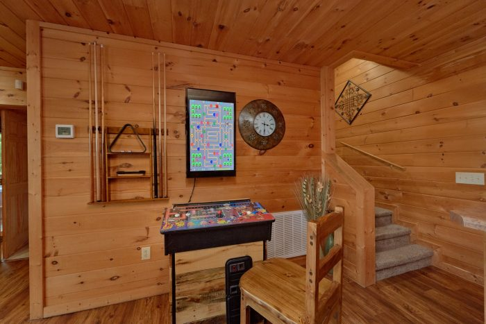 Smoky Mountain Cabin with a Theater Room - A View From Above