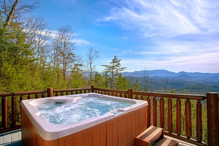 Secluded Cabin with Views of the Mountains - Above The Smokies