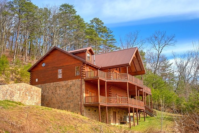 5 Bedroom Smoky Mountain Cabin Above The Smokies
