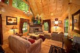 Gatlinburg Cabin with Living Room