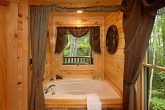 Relaxing Jacuzzi in your Gatlinburg Cabin