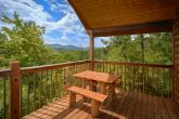 Premium Cabin with Mountain View & Picnic Table