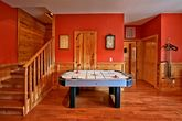 Cabin with Air Hockey Game
