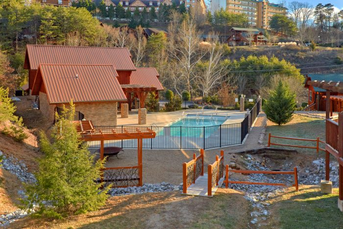 Bear Cove Falls 2 Bedroom Cabin Resort Pool - Almost There